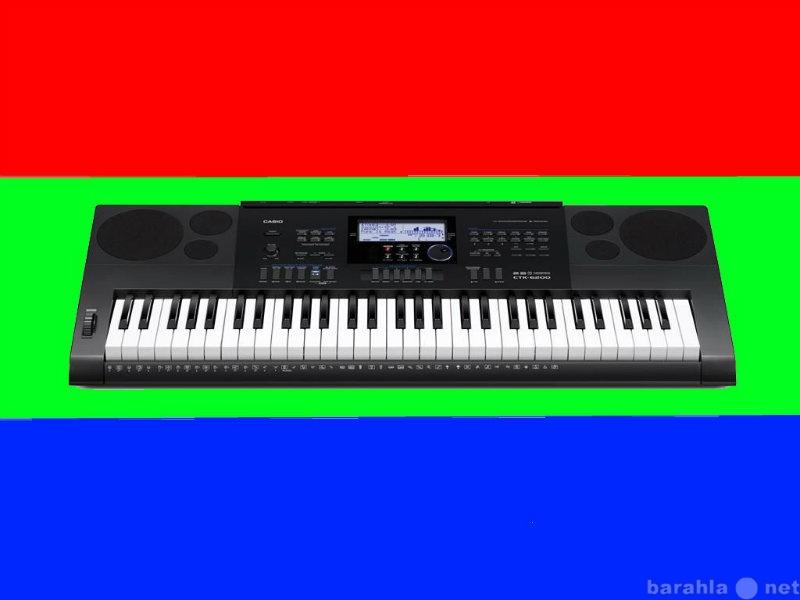 Продам синтезатор CASIO-ctk 6200