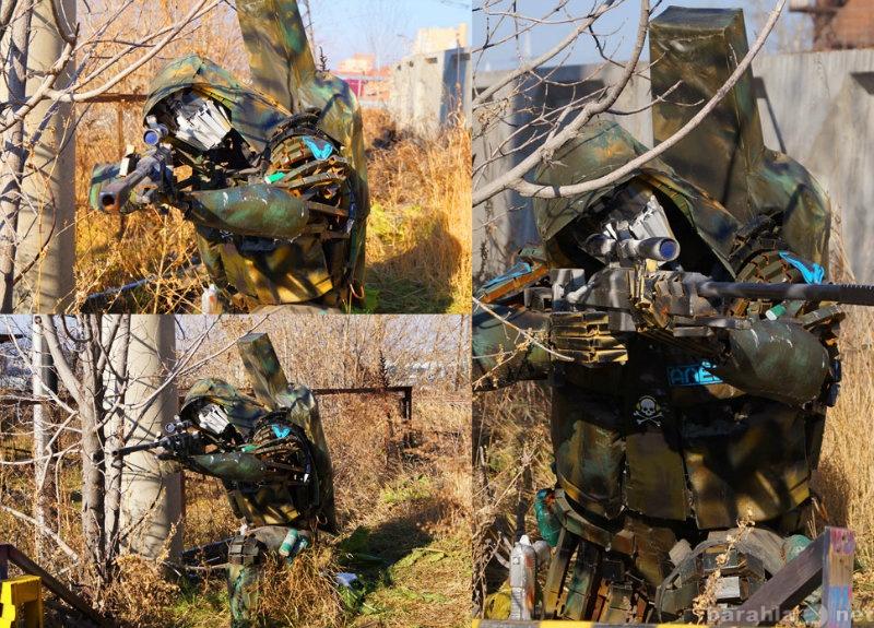 Продам: Скульптура из железа(снайпер)