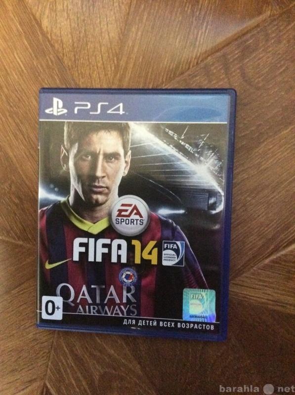Продам Fifa 14 на ps4