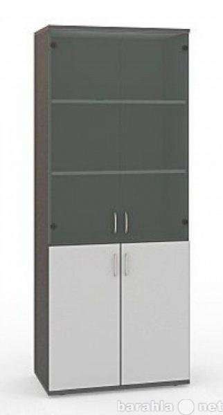 Продам Шкаф офисный стеклянный (218х84 см).