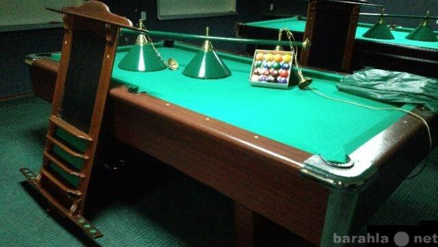 Продам Бильярдный стол 8 футов на камне