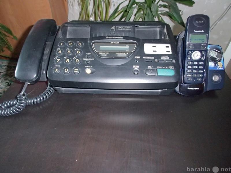 Продам Факс, радиотелефон