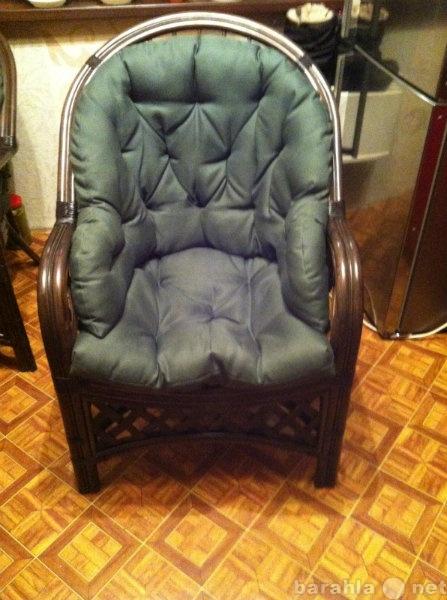 Продам продам новое кресло из натурального рота