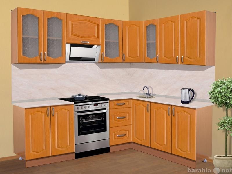 """Продам Кухня """"Анна-1"""" 220х160 см вишн"""