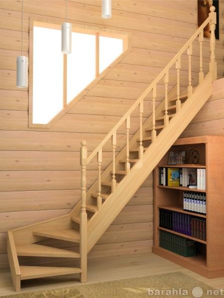 Продам: Деревянные лестницы