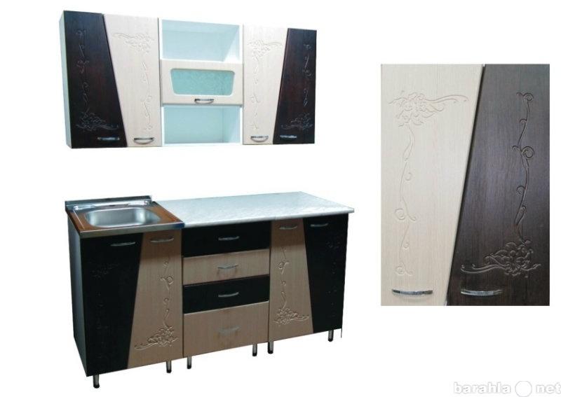 Продам Кухня Мираж МДФ с рисунком (6м+1ст+сушк+