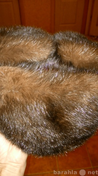 Продам Норковая зимняя шапка, демисезонные кепк