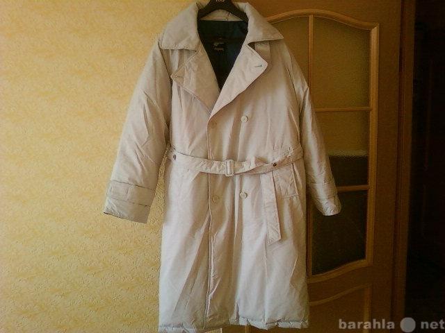 Продам пуховое пальто
