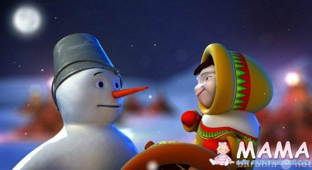 Продам Новогоднее поздравление от деда мороза