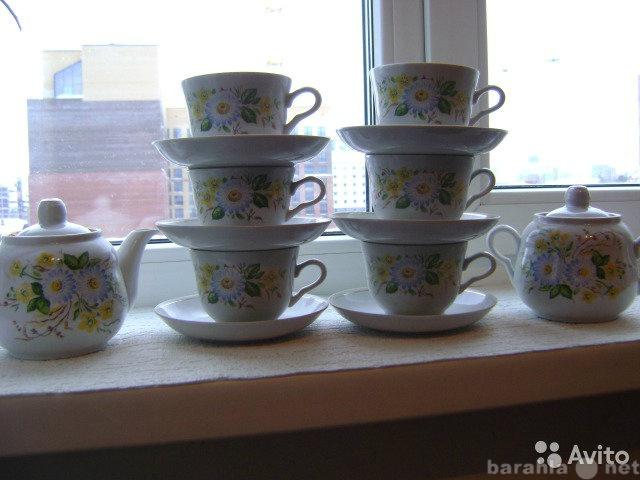Продам новый чайный сервис Россия 1980год