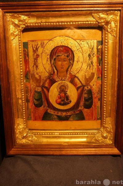 Продам: Образ Матери Божьей ЗНАМЕНИЕ, сер. XIX в