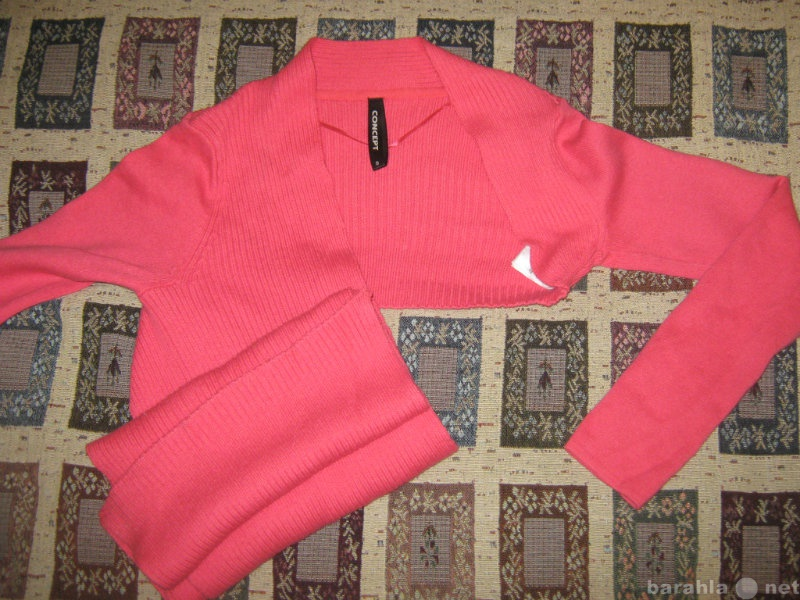 Продам Болеро с шарфом. Розовое.
