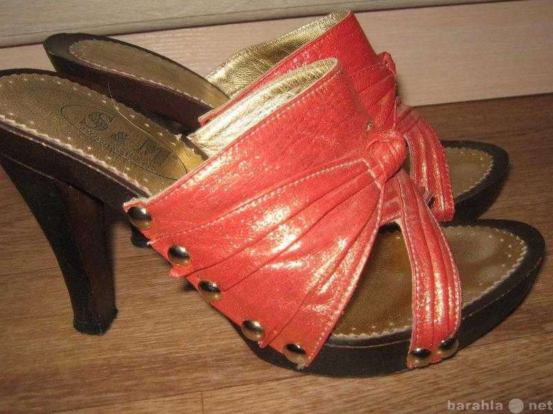 Продам Сабо Босоножки Туфли летние. Натуральная