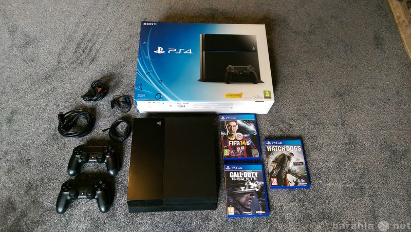 Продам Sony PlayStation 4 PS4 500 GB