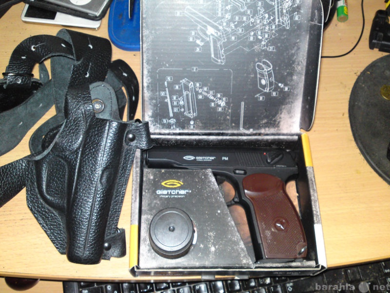 Продам Пневматический пистолет Gletcher PM