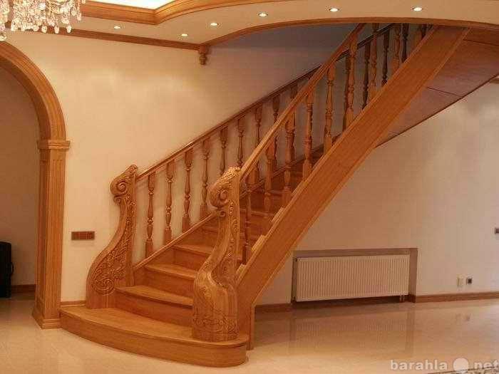 Продам лестницы из массива ясеня