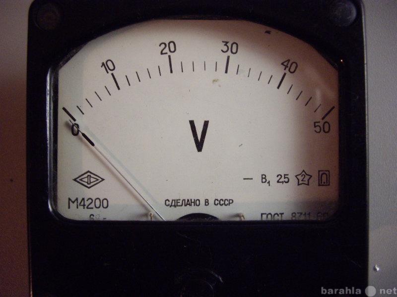 Продам: Вольтметр М 4200    (0-50вольт) 1штука .