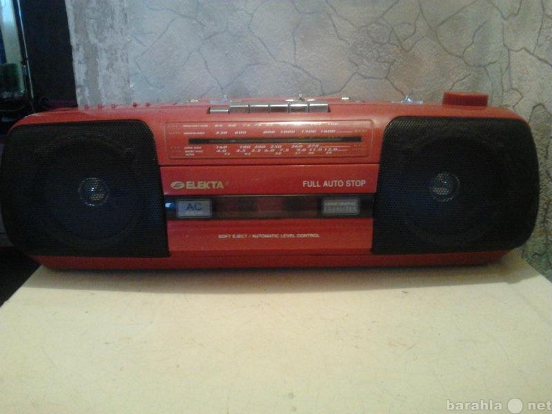 Продам Магнитофон + радиоприёмник