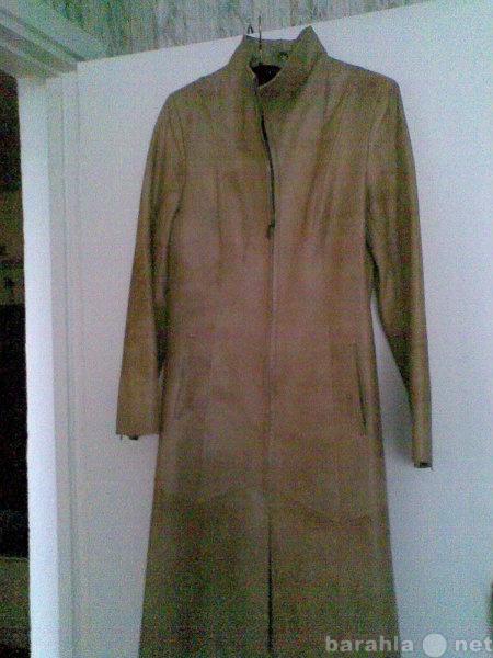Продам плащ кожаный HENNIN fashion