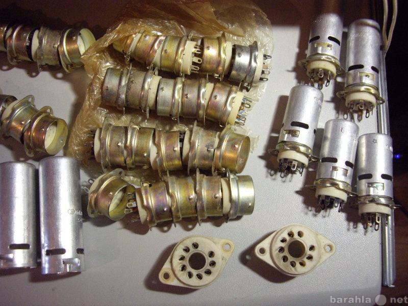 Продам: Панельки для радиоламп. Керамика