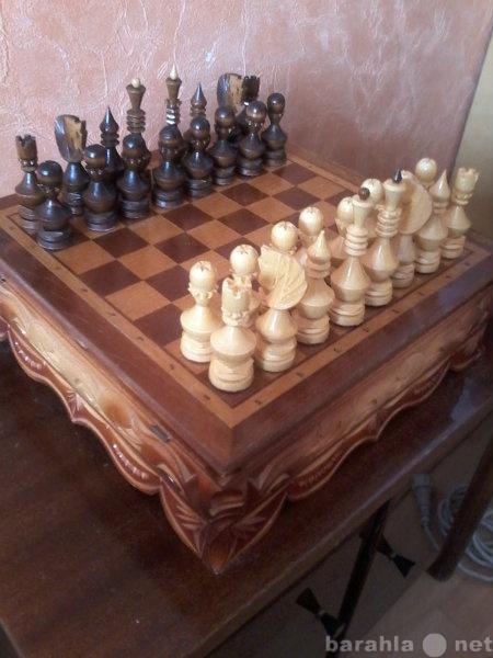 Продам Шахматы ручной работы
