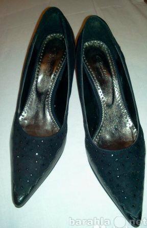 Продам туфли черные новые