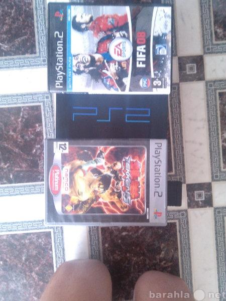 Продам PS2 приставка и две игры.