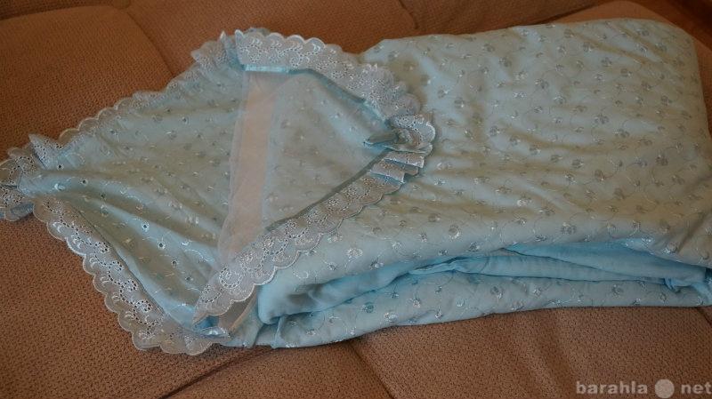 Продам Конверт- одеялко голубое