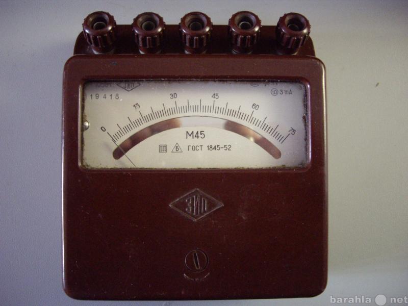 Продам: Вольтметр  М-45  для радиолюбителей