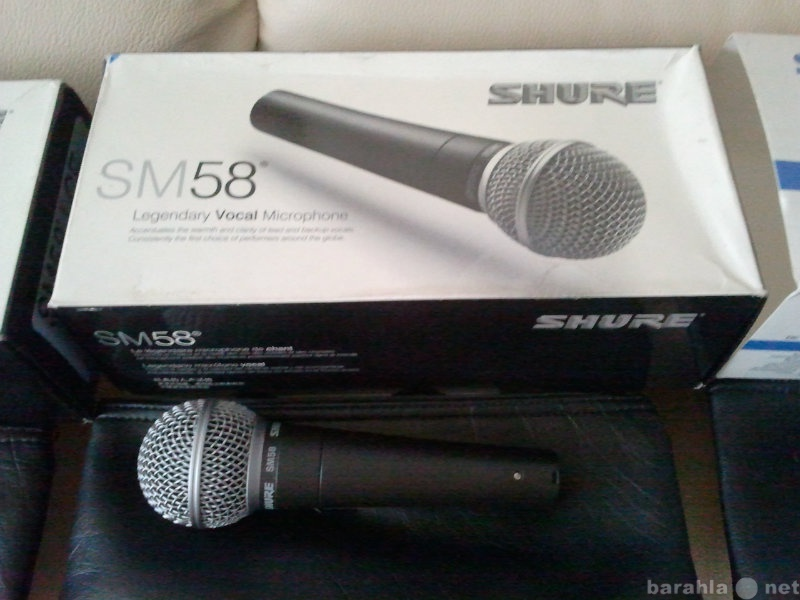 Продам Микрофоны (assembled by Shure in Mexico)