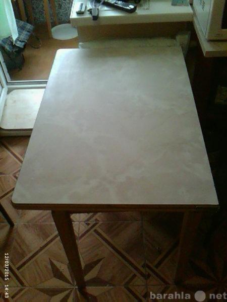 Продам стол кухонный разборный с ящиком