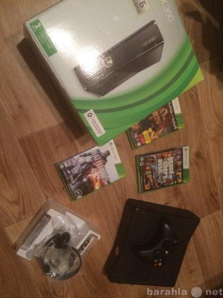 Продам: Xbox 360 250GB + 3 топовые игрушки