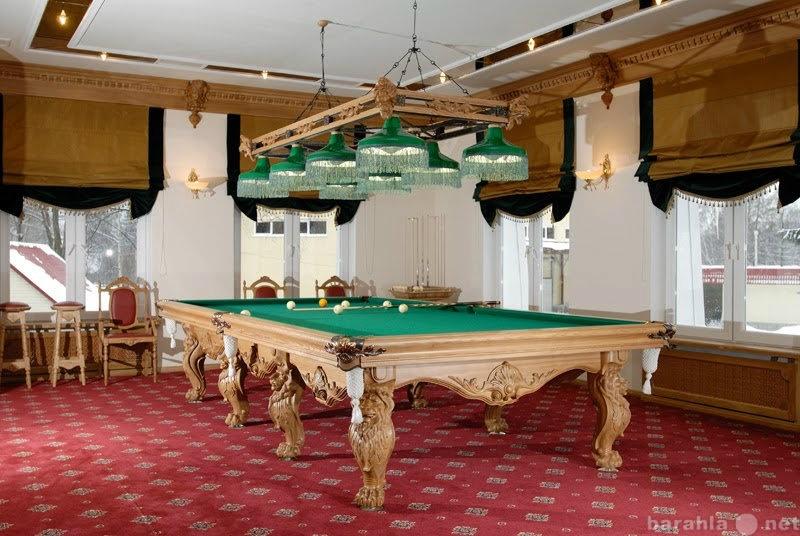 Продам: Бильярдные столы и мебель