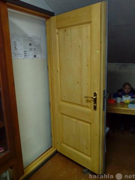 Продам: Дверь утепленная металлическая