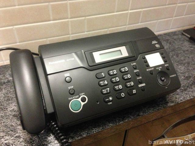 Продам: Факс печатающий - Panasonic KX-FT938 RU