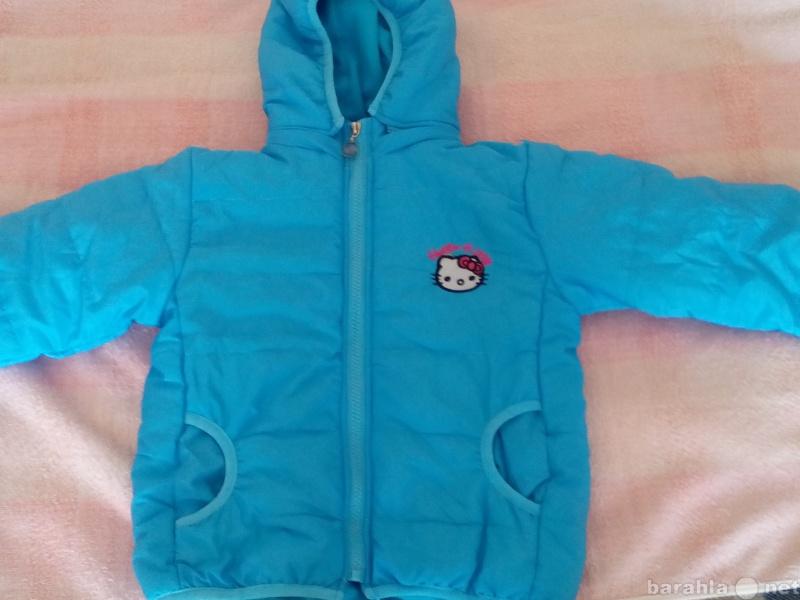 Продам Демисезонная куртка для девочки