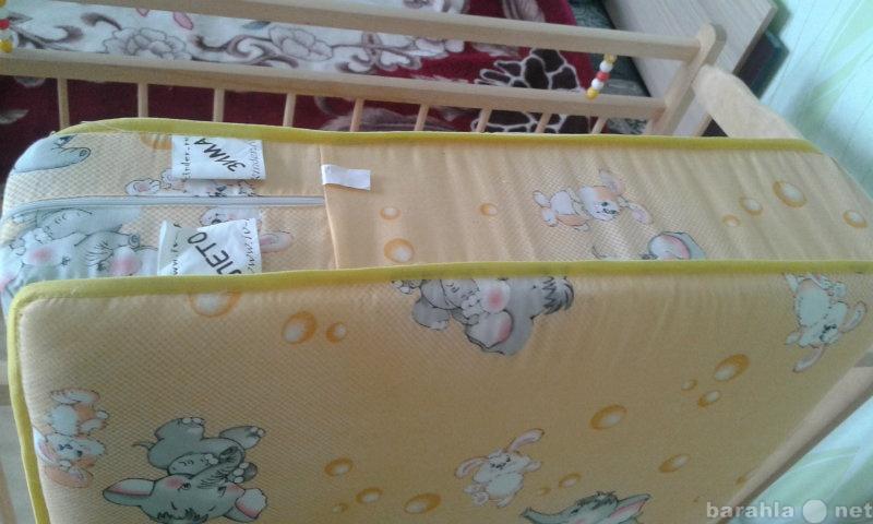 Продам ортопедический матрас в детскую кроватку