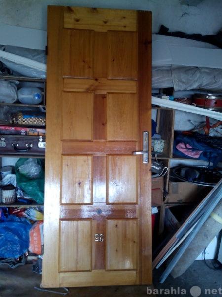 Продам: дверь входная (полотно)