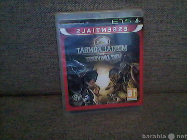 Продам Mortal Kombat vs DC Univers на PS3