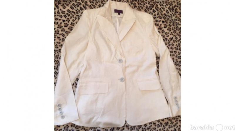Продам Льняной пиджак молочного цвета, размер L