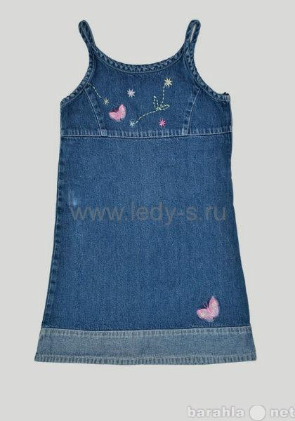 Продам Джинсовые сарафаны и платья детские