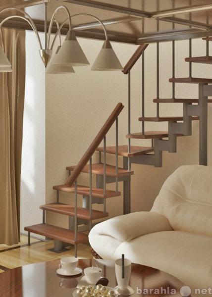 Продам: Красивые каркасные лестницы