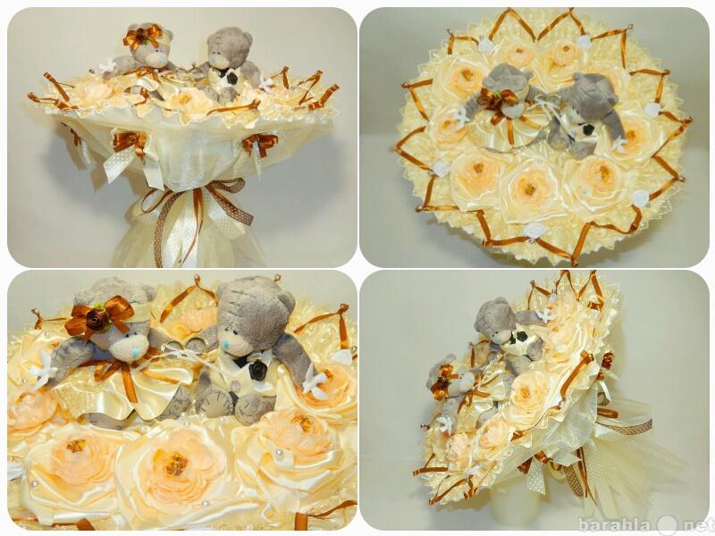 Продам Свадебный букет из мягких игрушек