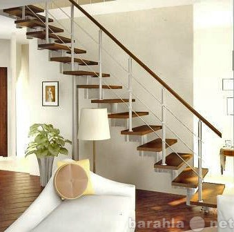 Продам: Модульные и деревянные лестницы под ключ