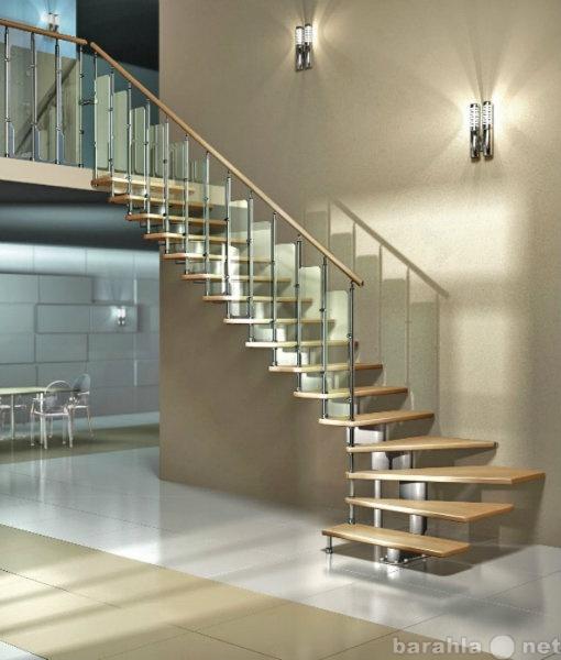 Продам: Модульные лестницы по индивидуальному пр