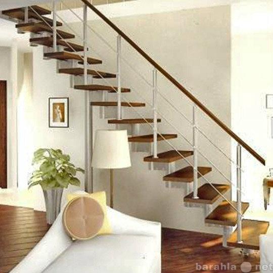 Продам: Деревянные каркасные лестницы для домов