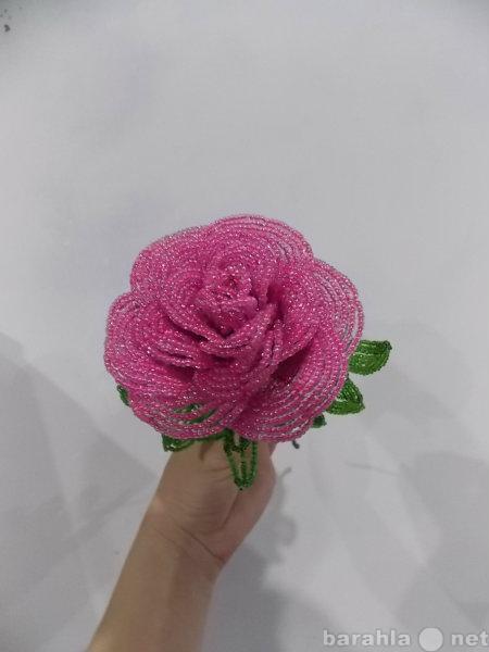 Продам роза из бисера