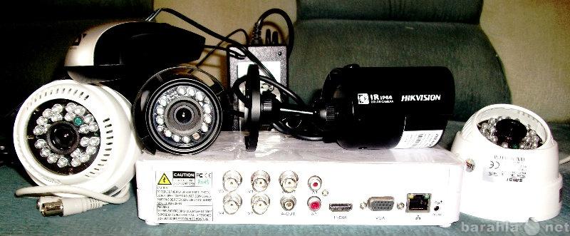Продам комплект видео на 4 камеры