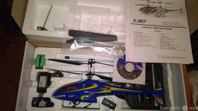 Продам Радиоуправляемый вертолёт E-sky Lama V4