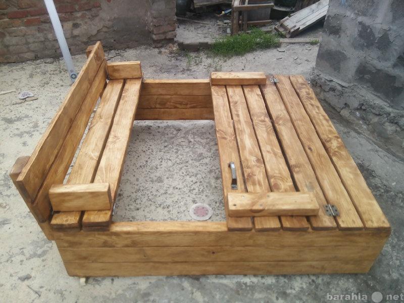 Продам песочница трансформер из дерева